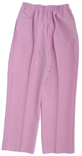 Misses Alfred Dunner Classics Elastic Waist Pants in Pastel Colors