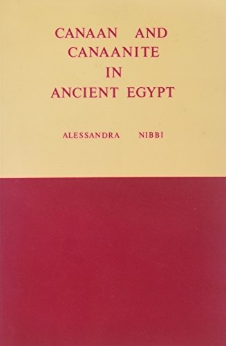 Canaan and Canaanite in Ancient Egypt