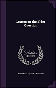 Book Letters on the Elder Question