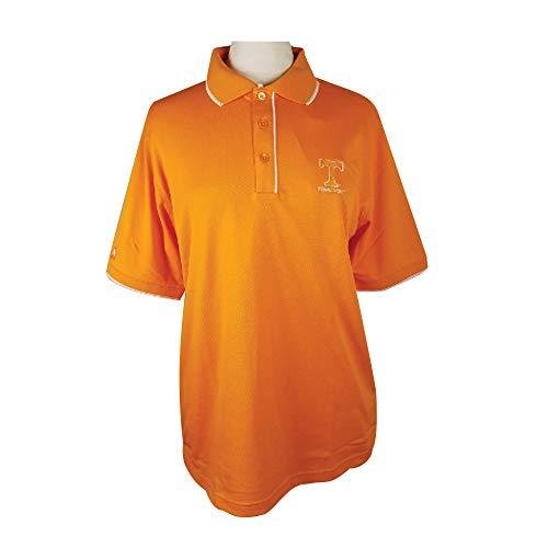 THE ANTIGUA GROUP INC Men's Orange Elite Polo UT Secondary Logo -