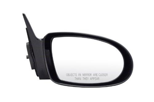Geo Prizm Mirror Glass (Pilot GO2209410-0R00 Geo Prizm Black Manual Remote Replacement Passenger Side Mirror)