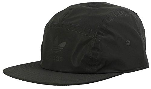 adidas Originals 5 Panel Reflect Junior Baseball Kappe, Schwarz, One Size