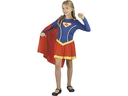 DISONIL Disfraz Super Heroína Niña Talla S: Amazon.es: Juguetes y ...