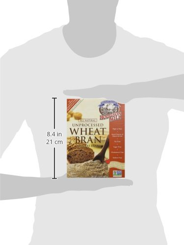 Hodgson Mill Wheat Bran, Unprocessed Millers Bran, 12-Ounce (Pack of 6) by Hodgson Mill (Image #7)