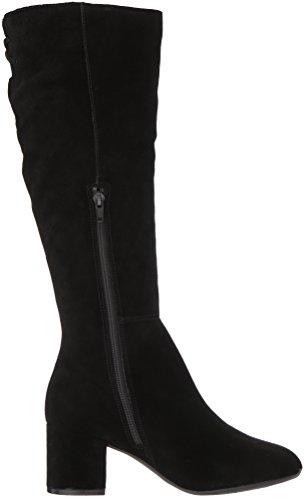 Stiefel schwarzem Damenbörse aus Kniehohe Aerosoles Wildleder Axq407EO0w