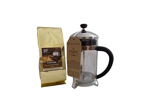 Heather's Korner Classic Coffee and Coffee Press (Brandani Black)