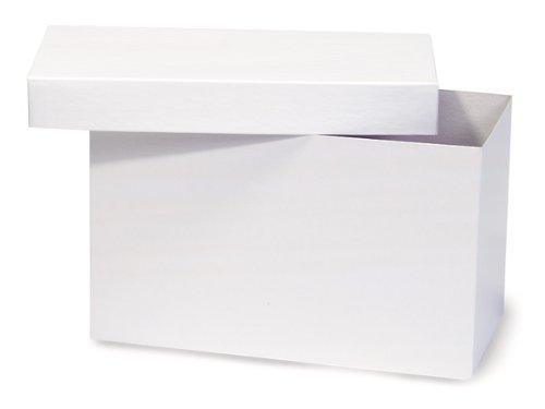 Giftware Box - WHITE GLOSS Hi-Wall 10x5x6