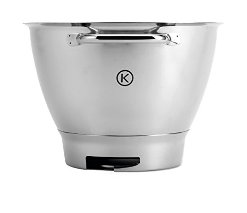 Kenwood 36385, Attachment Chef Stainless Steel Bowl with Handles, OVERSEAS USE ONLY, WILL NOT WORK IN THE US by Kenwood (Image #2)