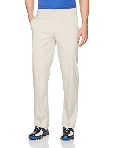 (PGA TOUR Men's Flat Front Active Waistband Pant, Silver Lining, 40W x 32L )