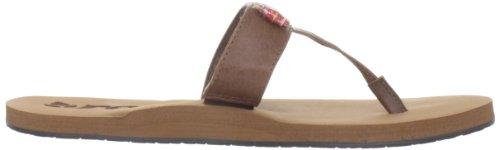 Reef Ugandal 5 - Sandalias para mujer multicolor - Mehrfarbig (Grey/Brown (BROWN))