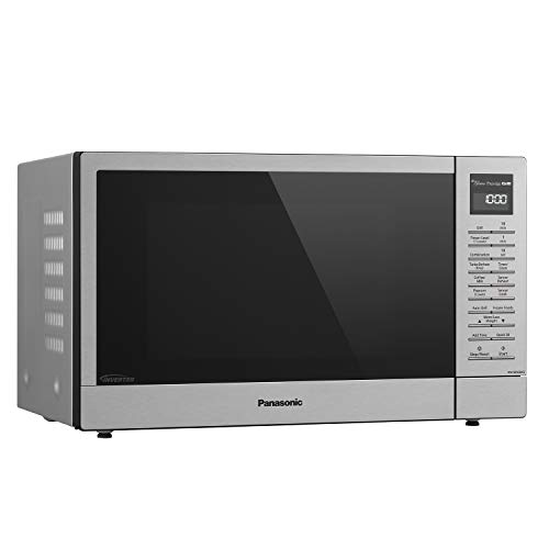 Panasonic Countertop Microwave Oven with FlashExpress Broiler, Genius Sensor Cooking, Popcorn Button and 1000W of Cooking Power - NN-GN68KS – 1.1 cu. ft (Stainless Steel) by Panasonic (Image #13)