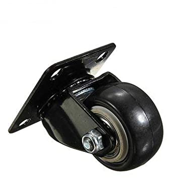 Heavy Duty PU Swivel Castor Wheels Trolley Furniture Double Bearing Casters