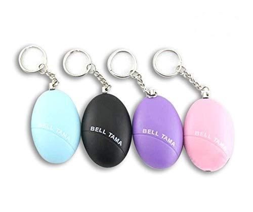 Bestsupplier 4 Pcs Emergency Personal Alarm Keychain, Self Defense Alarm KeyChain with 120 Decibel for Women,Kids,Girls by Bestsupplier