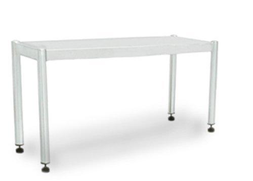 GOO Gastro GO7020G Gewerbe Aufsatzbord 1, 2m - mit 1 Etage 0, 4m hoch Edelstahl Tisch Regal Schrank Wandbord Pizzabord Bistro Imbiss