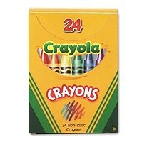 Crayons Tuck Box (BIN520024 - Crayola Classic Color Pack Crayons)