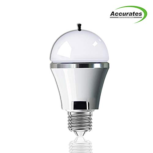 White Led Light Bulb with Built-in Anion Air Purifier E27