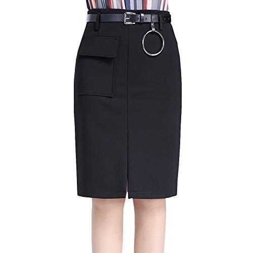 Jupe Taille Grande Taille Girl Bodycon Haute FS1611 E Club Noir Mini Crayon fE8Fwp0n
