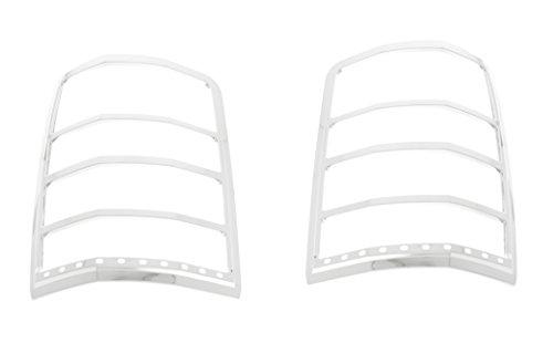 Fits 08-13 Jeep Liberty.. - Chrome Tail Light - Ses Tail Light Trim