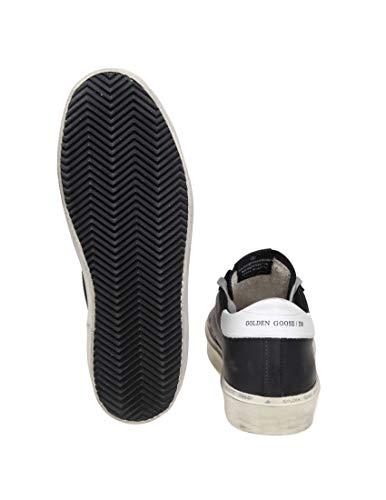 G34ms945c8 Zapatillas Goose Mujer Golden Cuero Negro vS05Fnpwq