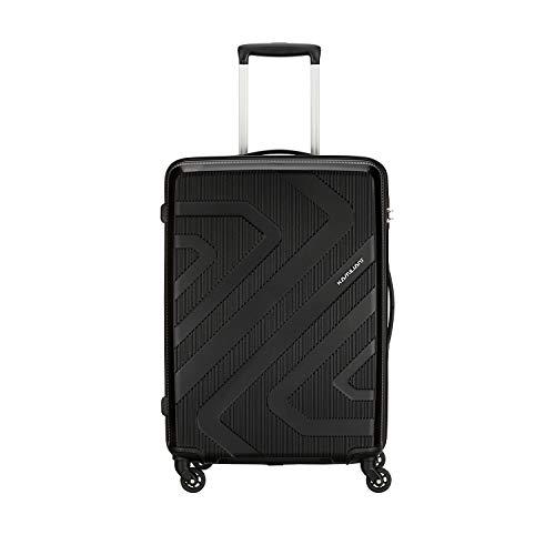 Kamiliant by American Tourister KAM Kiza Polypropylene 55 cms Black Hardsided Cabin Luggage (KAM KIZA SP 55CM – BLACK)