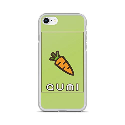 iPhone 7/8 Case Anti-Scratch Japanese Comic Transparent Cases Cover Vocaloid Kawaii Gumi Green Anime & Manga Graphic Novels Crystal -