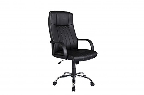 New PU Leather High Back Office Chair Executive Task Ergonom