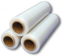 Bobina de plástico para embalaje, película de polietileno para embalaje, 50 cm de altura, rollo de 300 m PZ 1
