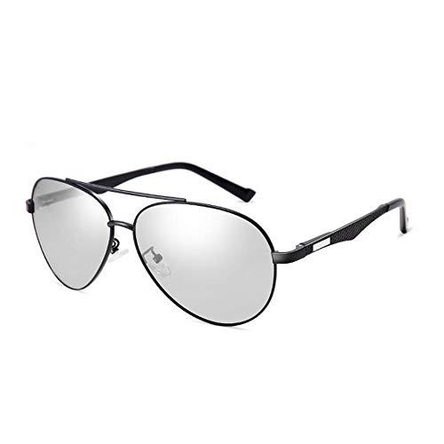 Talla Sol Pilot Plateado de Plata Sabarry Gafas de Gafas Sol Planeador Gafas única UV400 Protección Premio nbsp;Hombre TnAAxwS