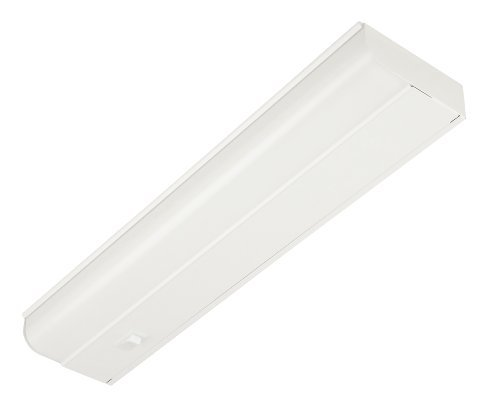 Good Earth Lighting G9318D-T8-WHI 18-Inch Under Cabinet Fixture with Direct Wire, White by Good Earth (Whi Under Cabinet)