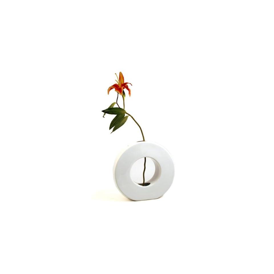 Torre & Tagus Zero Vase, White