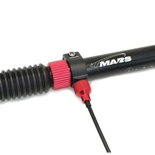 TMARS 419L Mechanical Drop Seatpost Black 31.6 x 400mm