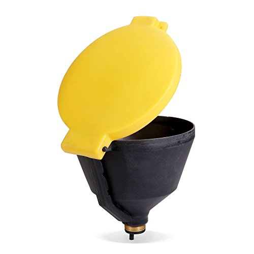 New Pig Burpless Poly Drum Funnel, For 30 and 55 Gal Steel & Poly Drums w/ 2