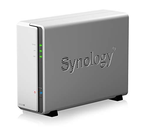Synology DS120j 1 bay NAS DiskStation (Diskless), 512MB DDR3L