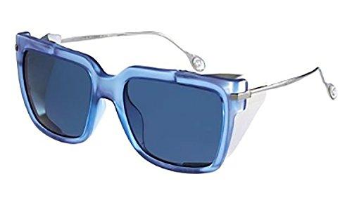 Gucci Sunglasses - 3738 / Frame: Blue Ruthenium Lens: - Runway Sunglasses Gucci