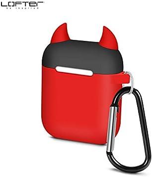 Funda Airpods 2 Funda Protectora De Auriculares Inalámbricos Bluetooth De Apple Funda Protectora De Silicona Airpods Red Bull Demon: Amazon.es: Electrónica