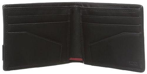 01. TUMI Men's Alpha Double Billfold Wallet