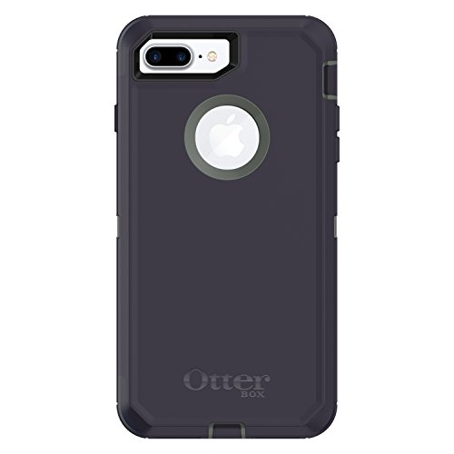 OtterBox DEFENDER SERIES Case for  iPhone 8 Plus & iPhone 7 Plus (ONLY) - Retail Packaging - STORMY PEAKS (AGAVE GREEN/MARITIME BLUE)