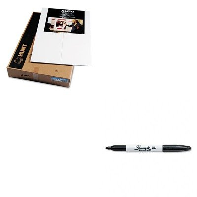 KITEPI902090SAN30001 - Value Kit - Elmers CFC-Free Polystyrene Foam Premium Display Board (EPI902090) and Sharpie Permanent Marker (SAN30001) by Elmer's
