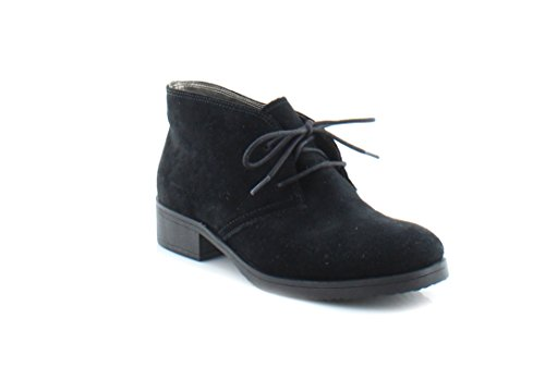 Bandolino Women's Talon Ankle Bootie, Black Suede, 8.5 M ()