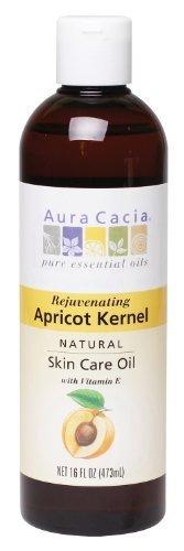 Aura Cacia Apricot Kernel Oil (Natural Skin Care Oil, Apricot Kernel, 16 fl oz (473 ml) by Aura Cacia)