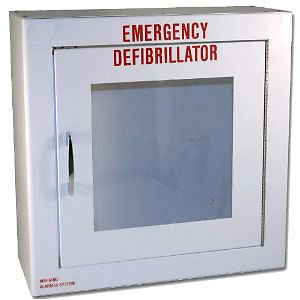 AED Basic Wall Standard Cabinet With Alarm- Apollo First Aid by Apollo