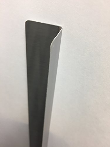 Stainless Corner Guards, 1.5''x1.5''x48'', 10 Pack, 20 Ga. by RiversEdge Products (Image #1)