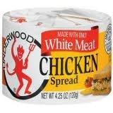 UNDERWOOD WHITE MEAT CHICKEN SPREAD 4.25 OZ (PACK OF 2) PASTA DE POLLO UNDERWOOD (2 UNIDADES)