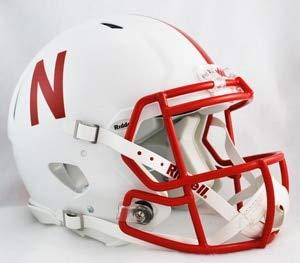 NCAA Riddell Nebraska Cornhuskers Revolution Speed Full-Size Authentic Football Helmet
