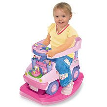 Disney Princess 4-in-1 Ride-on