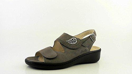 Fidelio Damen Sandalette 434008, Graphite Karunga (38), EU
