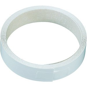 Reinforced Edge Binding Tape in White - Set of 10