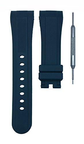 Unisex Orange Silicone Strap LED Watch Set of 2 - 5