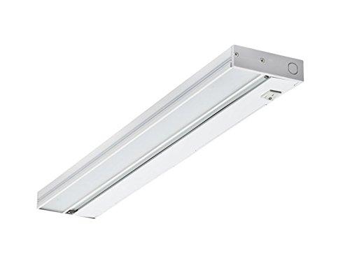 NICOR Lighting 21-Inch Under Cabinet LED Lighting, White (NUC-2-21-WH) by NICOR Lighting