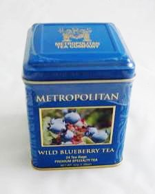 Wild Blueberry Black Tea by Metropolitan 24 Bags in Decorative - Tea Blueberry Black Wild